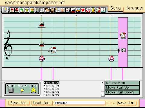 Mario Paint: Painkiller (Instrumental)