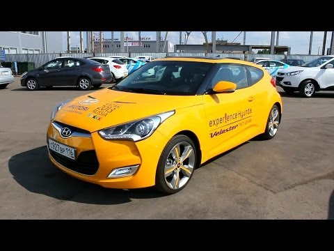2013 Hyundai Veloster. Start Up, Engine, and In Depth Tour.