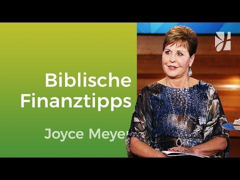 Biblische Finanztipps – Joyce Meyer – Mit Jesus den Alltag meistern