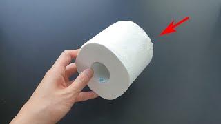 두루마리 휴지를 냉장고에 넣으면 놀라운 효과가 생기는 걸 방금 알아냈습니다 Tissue