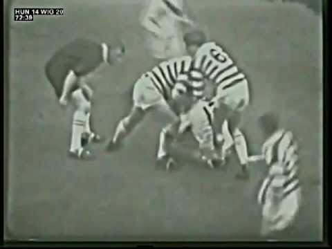 Hunslet v Wigan - 1965 Rugby League Challenge Cup Final