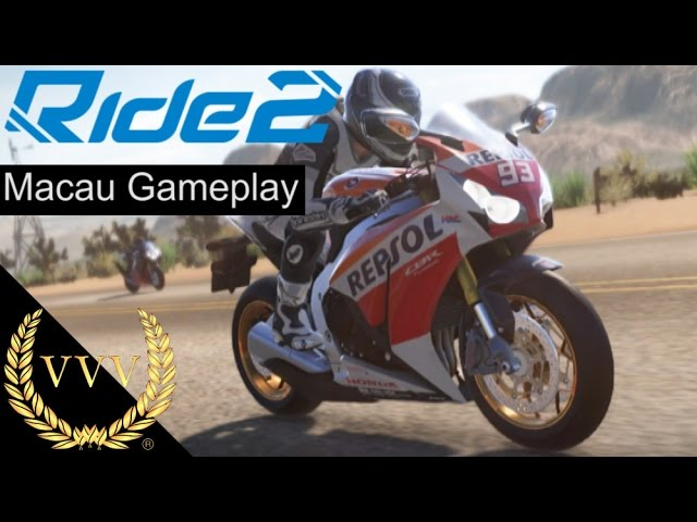 Ride 2 Gameplay Macau Street Circuit