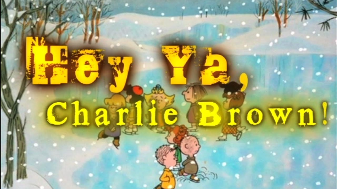 Youtube Charlie Brown Christmas.Hey Ya Charlie Brown Remaster