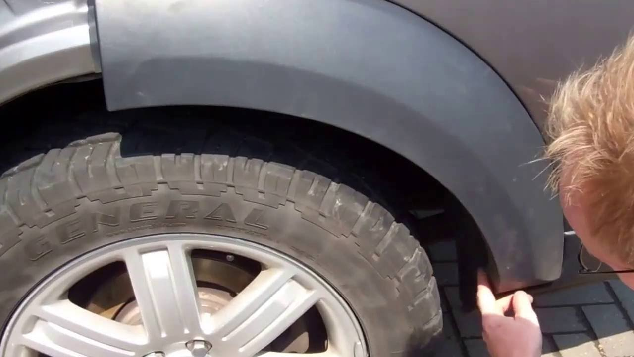 How To Remove Wheel Arches On A Land Rover Discovery 3 Lr3