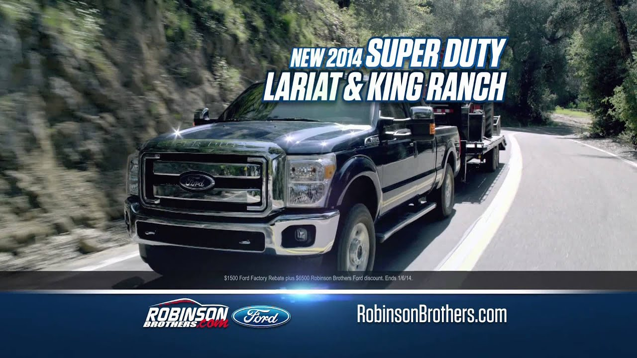 robinson brothers ford dream big truck specials december 2013 baton rouge la youtube. Black Bedroom Furniture Sets. Home Design Ideas