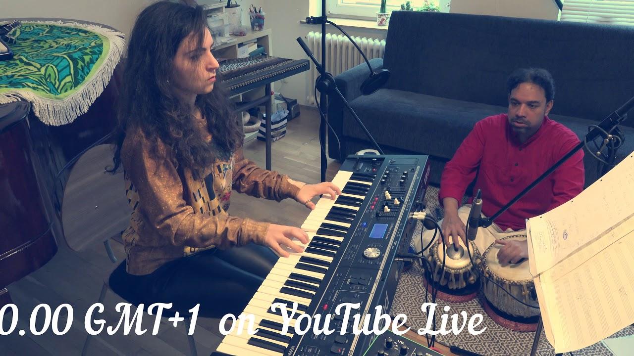 Duo DELINIRIS and Arup Sen Gupta - Trailer for Live Stream Concert