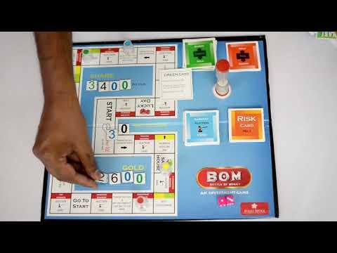 Folks Work Battle of Money Board Game FW10000