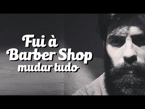 FUI A UMA BARBER SHOP E OLHA NO QUE DEU