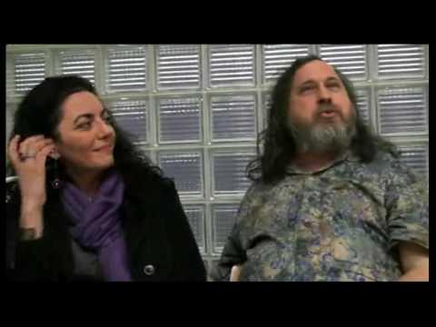 Stallman intervistato dalla nostra Anna Mazza