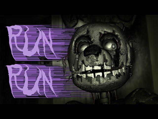 [SFM FNAF] RUN RUN! - FNaF 3 Song by ChaoticCanineCulture