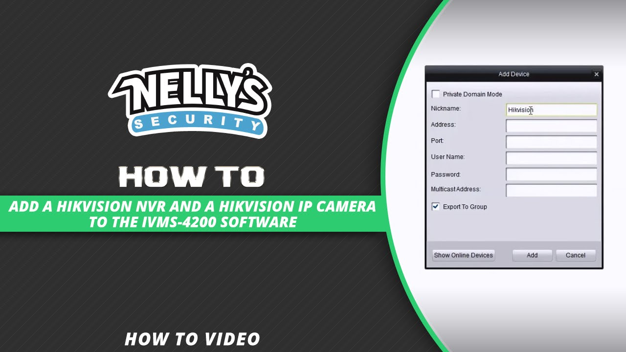 Video reviews of iOS app and tips & tricks iVMS-5260