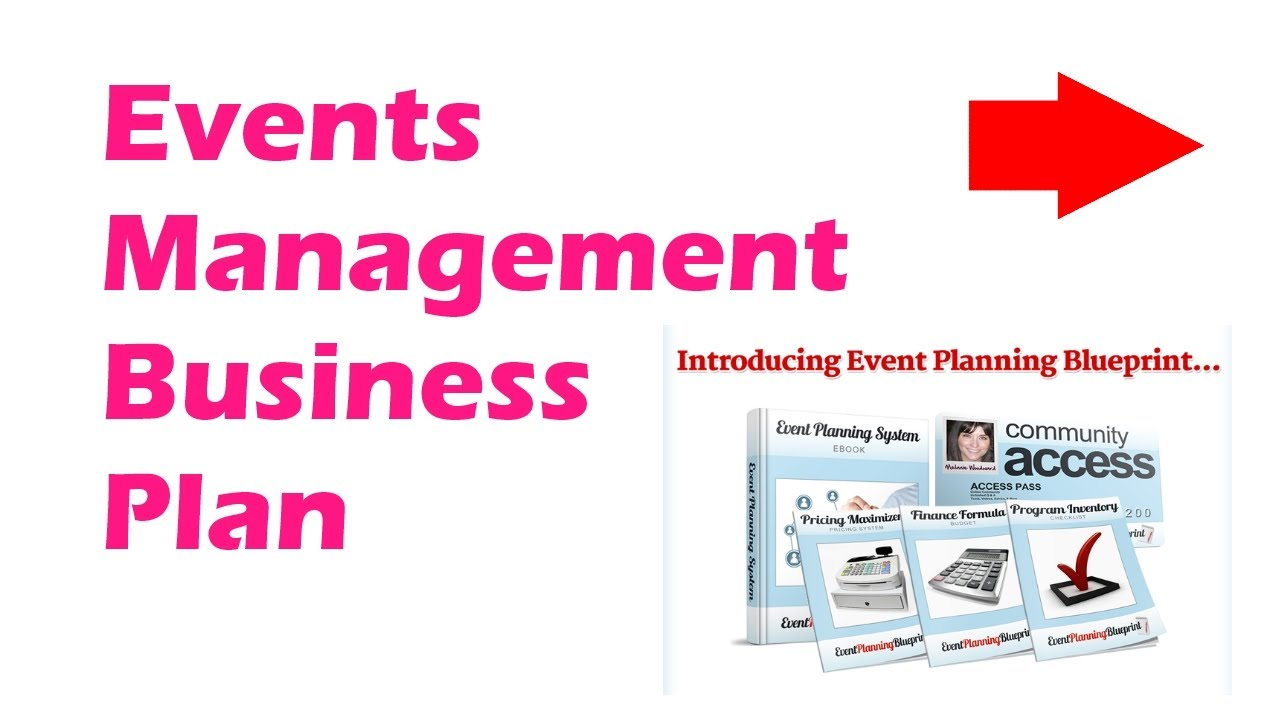 Events management business plan youtube events management business plan malvernweather Images