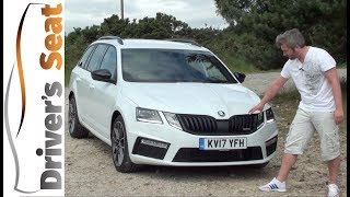 Skoda Octavia vRS 2018 Review | Driver's Seat