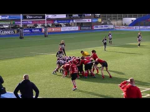Rhondda Girls Rugby U15's v Winscombe 2
