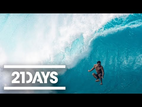 Big Swells and Bigger Wipeouts - 21Days: Volcom Pipe Pro - Ep 3