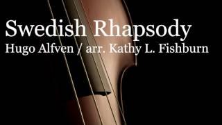 swedish rhapsody by hugo alfven arr fishburn professional studio recording