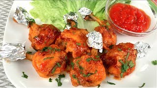 how to make chicken lollipops