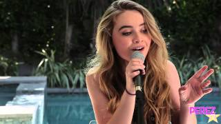sabrina carpenter cant blame a girl for trying exclusive perez hilton acoustic