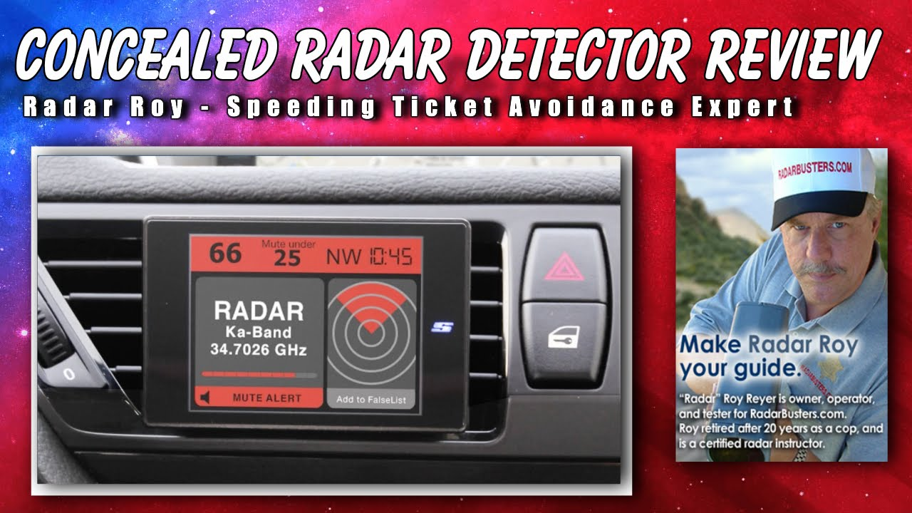 Which Concealed Radar Detector is Best for Me?