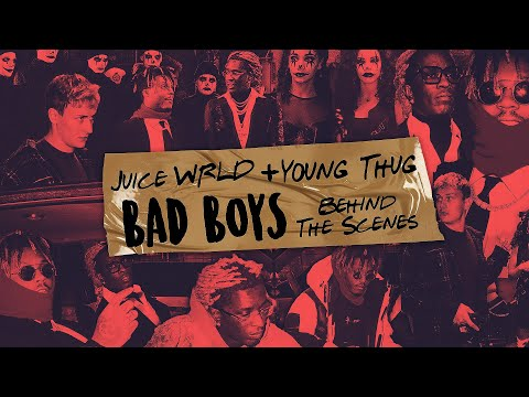 """Juice WRLD & Young Thug """"Bad Boy"""" behind the scenes"""