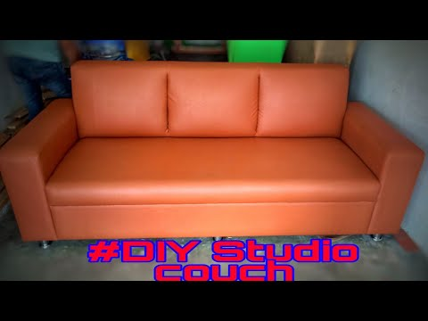 Diy Studio Couch,how to make a simple sofa