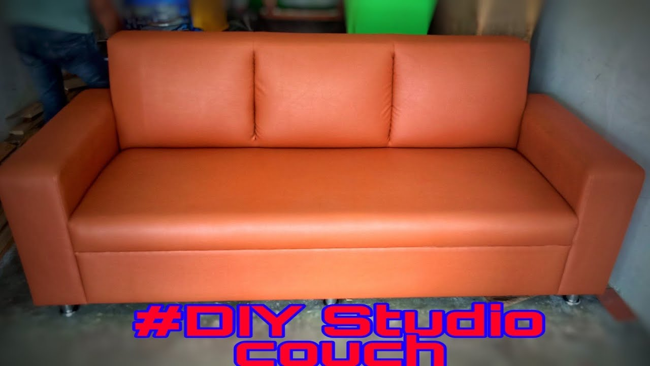 Studio Couch How To Make A Simple Sofa