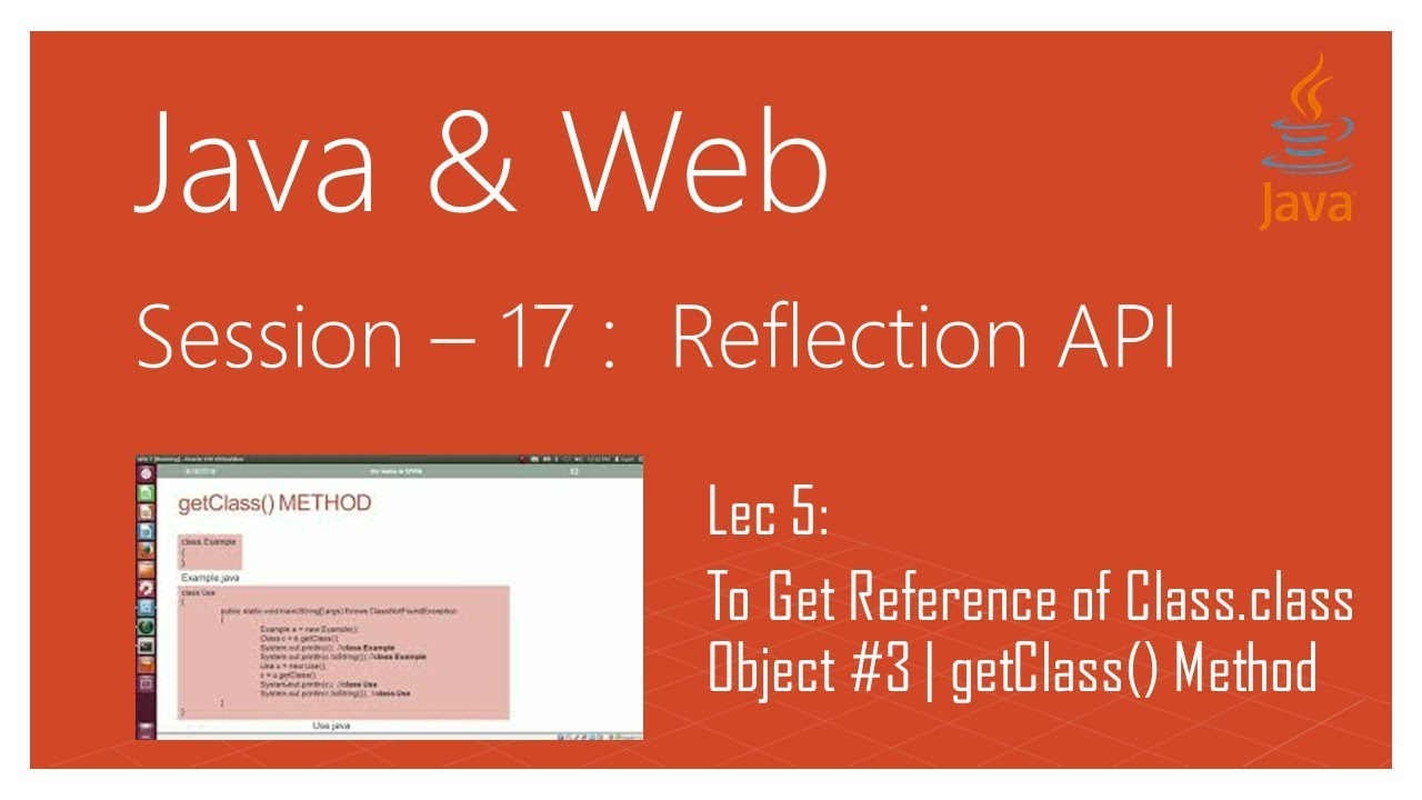 Reflection api in java | #5 | to get reference of class. Class.