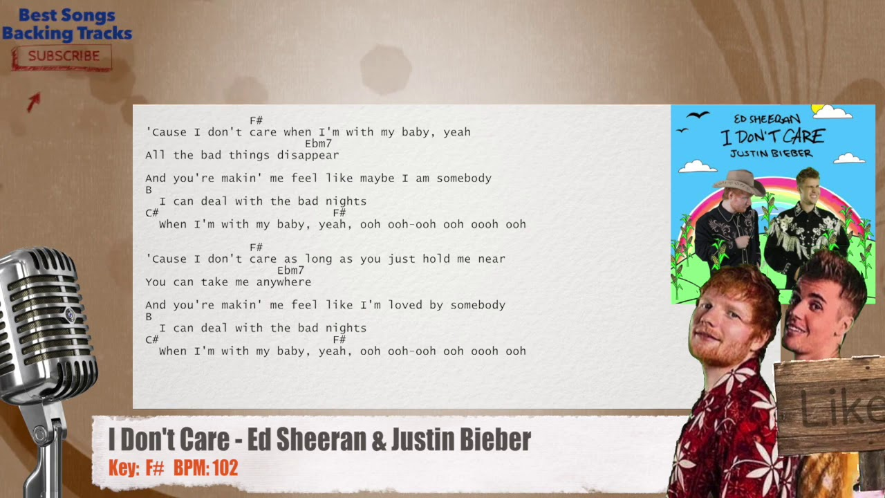 Ed Sheeran & Justin Bieber Vocal Backing