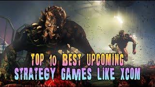 TOP 10 BEST UPCOMING - Turn-based Strategy Games Like XCOM