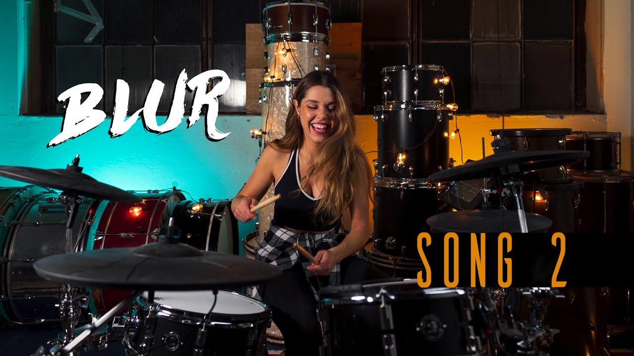 Song 2 - Blur | DRUM COVER Domino Santantonio