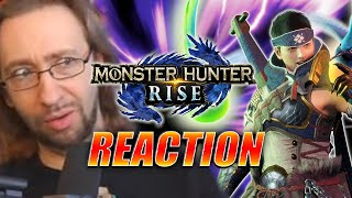 MAX REACTS: Monster Hunter Rise Digital Event Jan 2021