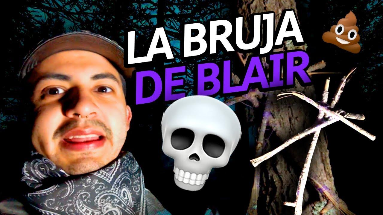 BROMA EN EL BOSQUE AL #SDLM 🌲 // LA BRUJA DE BLAIR 🧙♀️