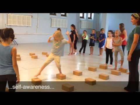 Kids Yoga Camp Games