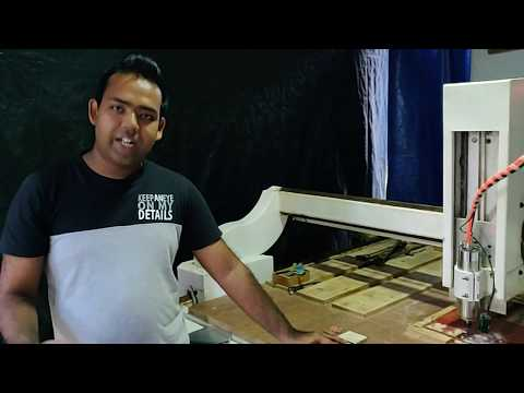 wood engraving machine by young Sri Lankan innovator (Thilina)