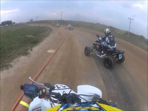 Mid America Speedway 8-29-15 ATV flat track racing