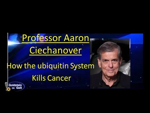 Professor Aaron Ciechanover – How the Ubiquitin System Kills Cancer – interview- Goldstein on Gelt