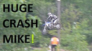 Talented Rider Edit Motorcycle Wreck End Over End FAIL Hd Video