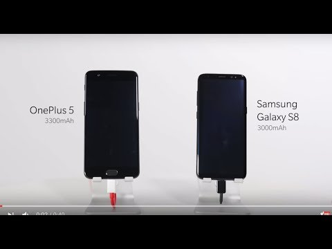 OnePlus 5 Dash Charge vs Samsung Galaxy S8 Fast Charging: Which one is faster?