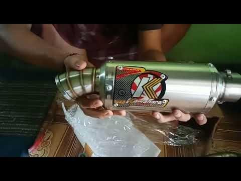 UNBOXING Knalpot dari Purbalingga (Kawahara racing ) knalpot racing khusus Bebek !!!