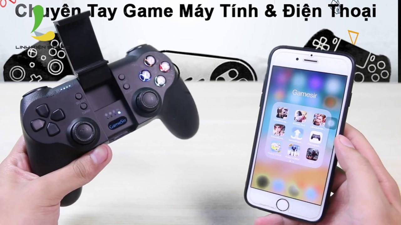 Hướng dẫn map phím chơi game bằng tay cầm GameSir trên IOS (Iphone, Ipad)