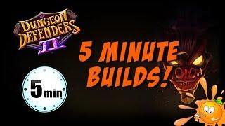5 Minute Builds for DD2! NM4 Griblok's Horde Incursion! No PDT