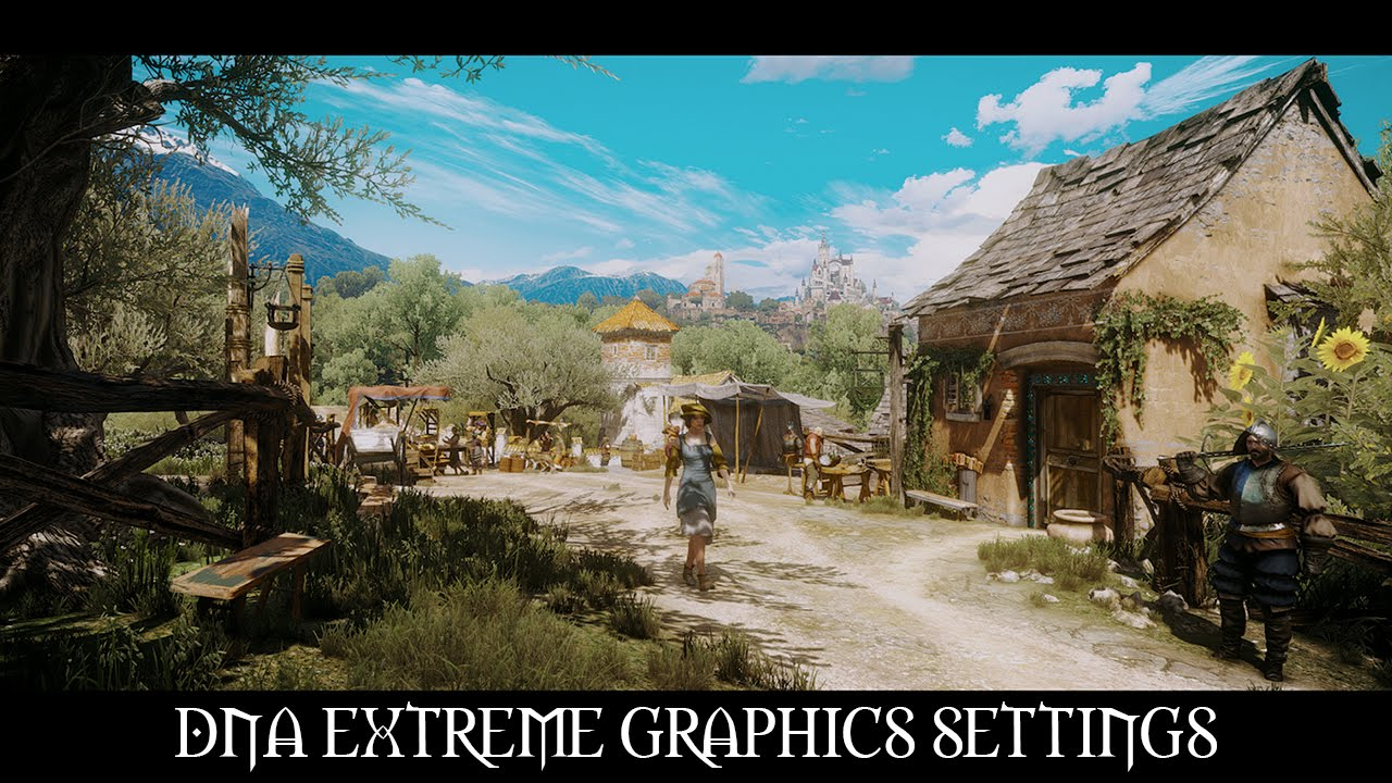 The Witcher 3 Mods: DNA Extreme Graphics Settings V2 0