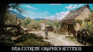 The Witcher 3 Mods: DNA Extreme Graphics Settings V2.0