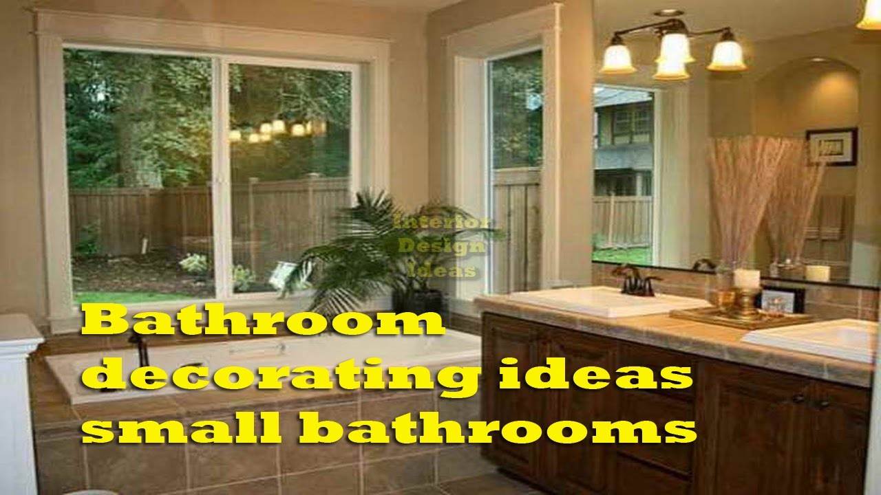 Bathroom Decorating Ideas Small Bathrooms   Creative Bathroom Decorating  Ideas Small Bathrooms
