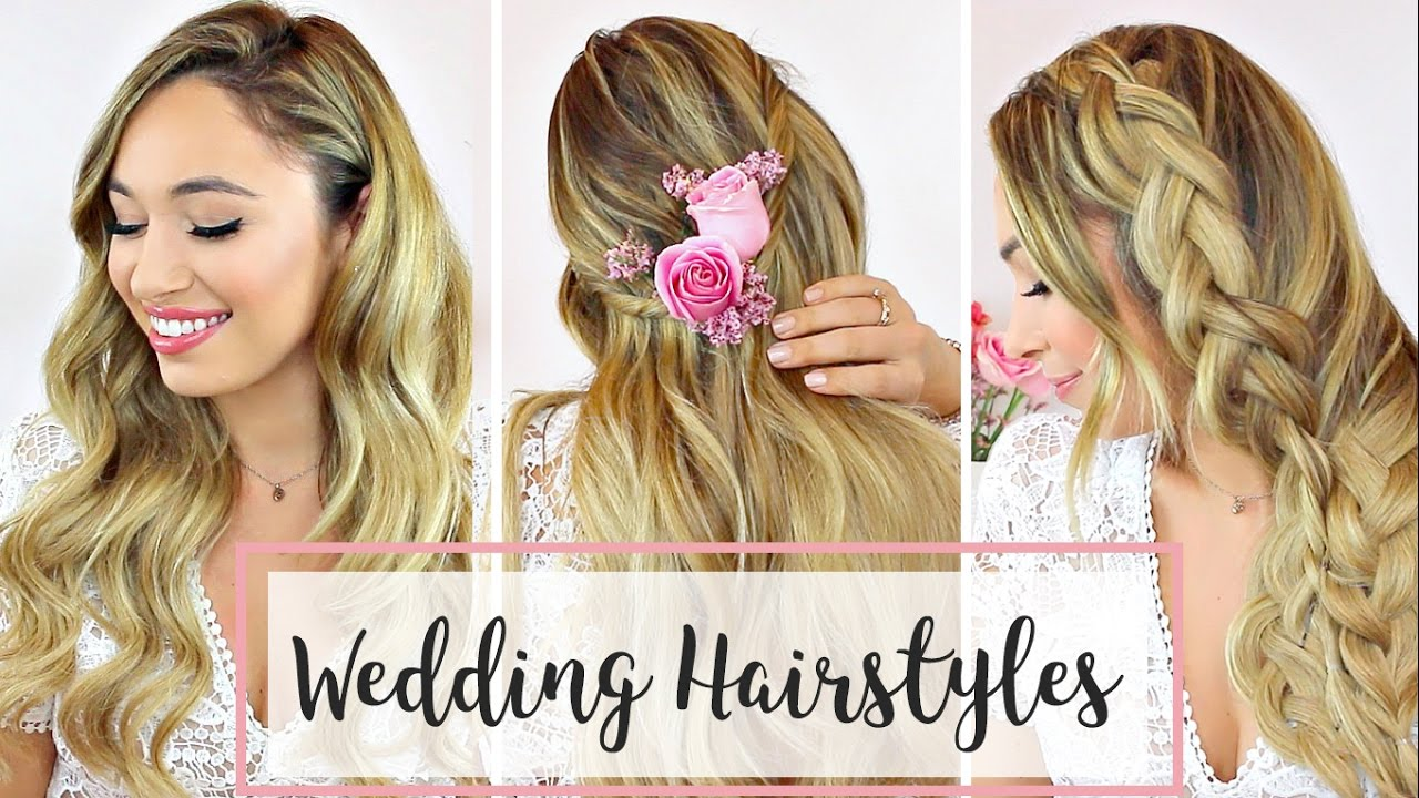 Wedding Hairstyles That You Can Do Yourself | Hair Tutorial   YouTube