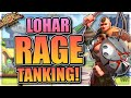 INSANE Rage Generation And TANKING With Lohar!  | Rise Of Civilizations