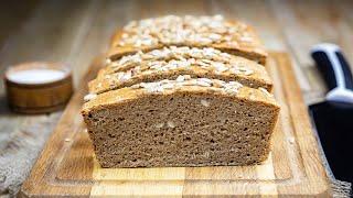 Ржаной хлеб на домашней ржаной закваске видео рецепт