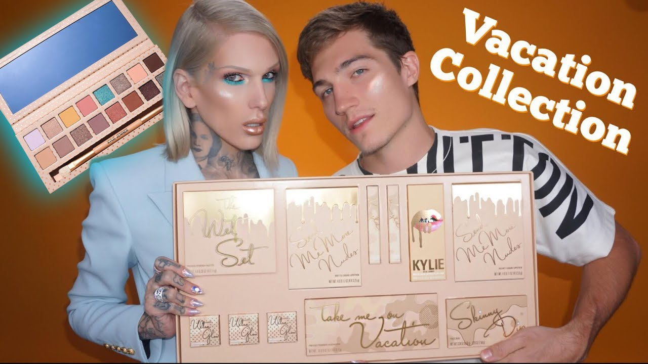 Kylie Cosmetics The Vacation Collection Review