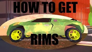 (Roblox Jailbreak) How To Get The Fidget Spinner Rims