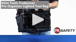 Klein Tools Tradesman Pro Organizer Lighted Tool Bag 55431 - Overview